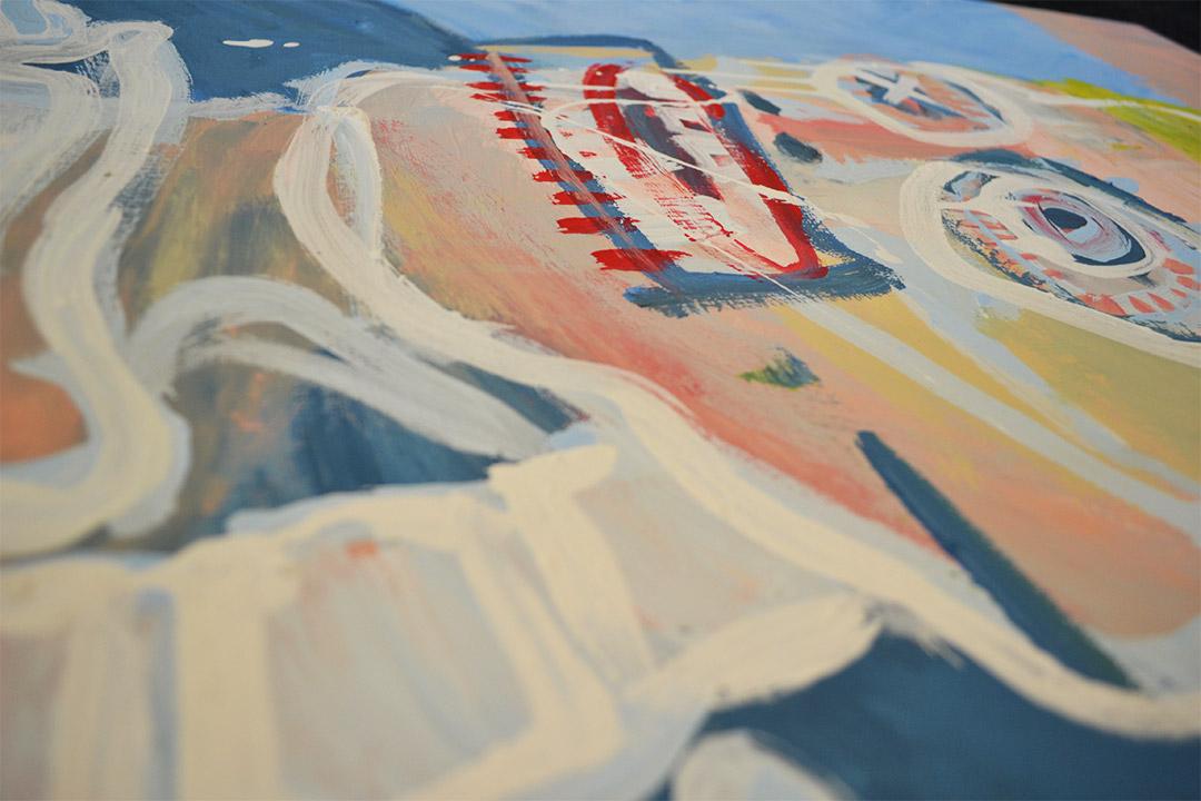 Zemansky Martin painting Blonde detail 05