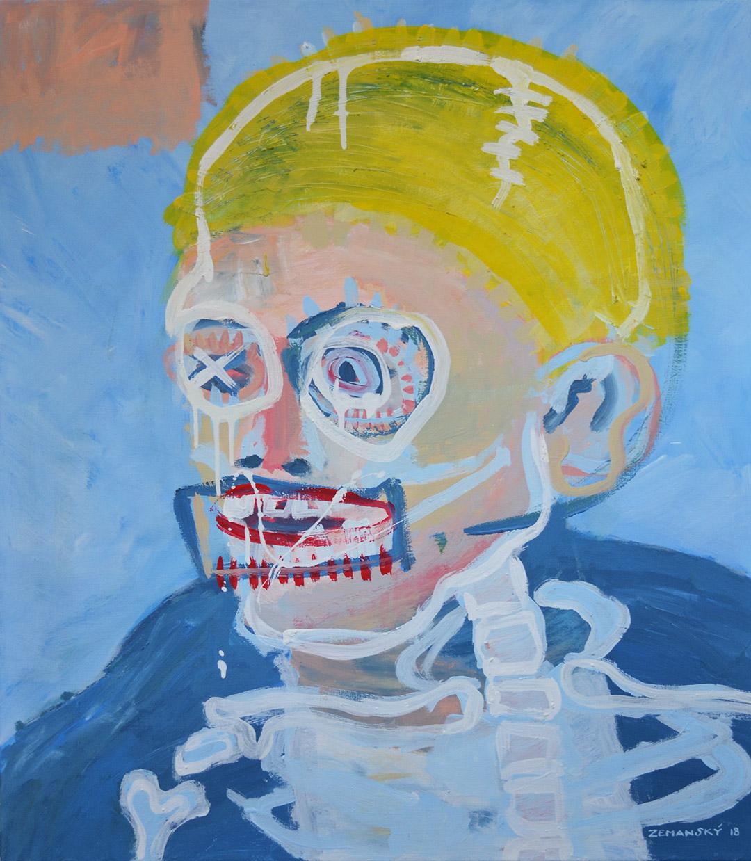 Zemansky Martin painting Blonde