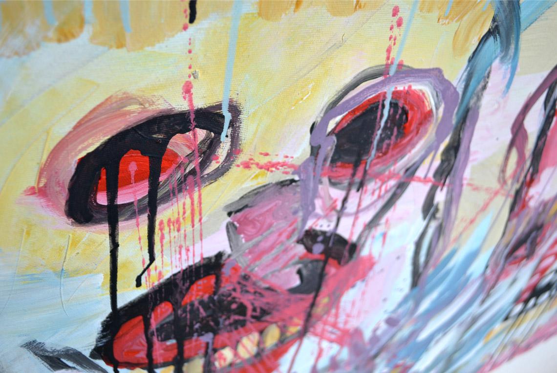 Zemansky Martin painting Carnival no. 01 detail 02