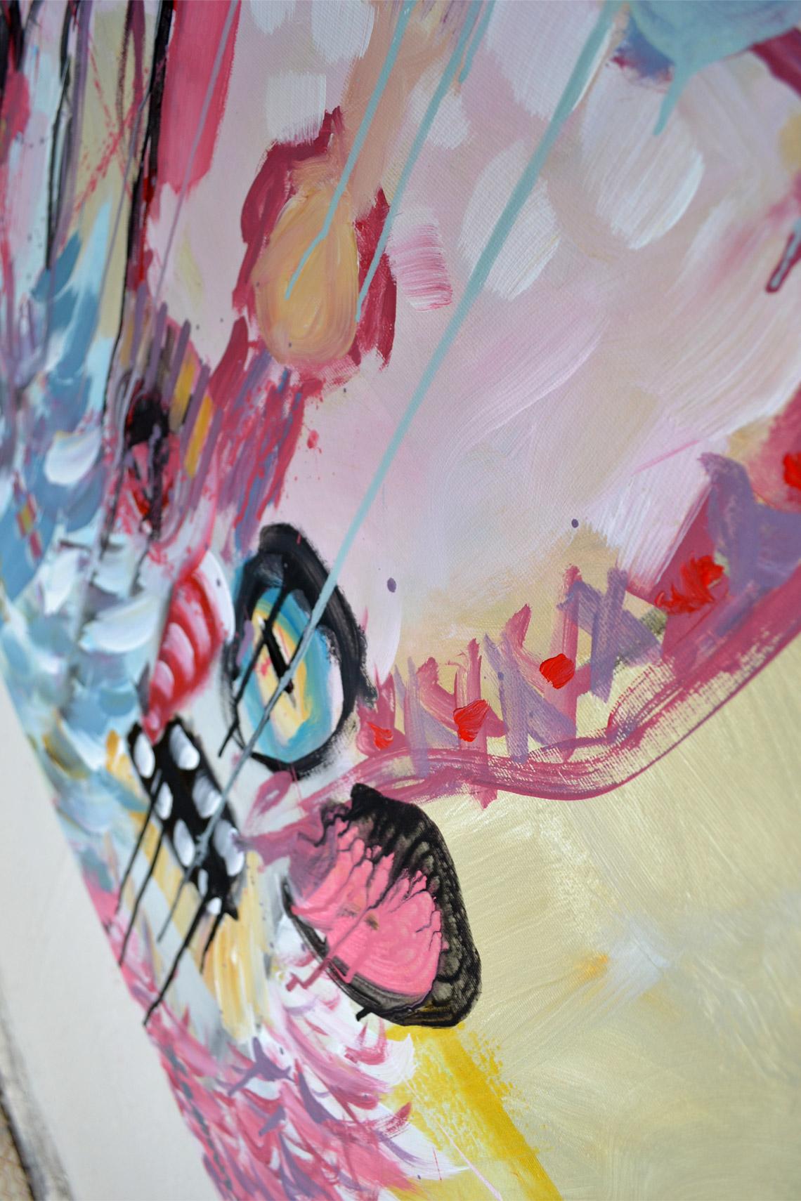 Zemansky Martin painting Carnival no. 01 detail 05