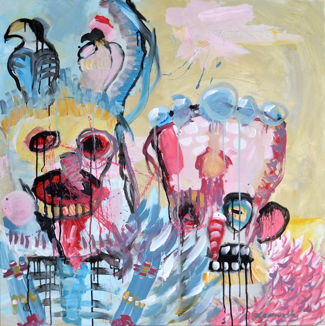 Zemansky Martin painting Carnival no. 01