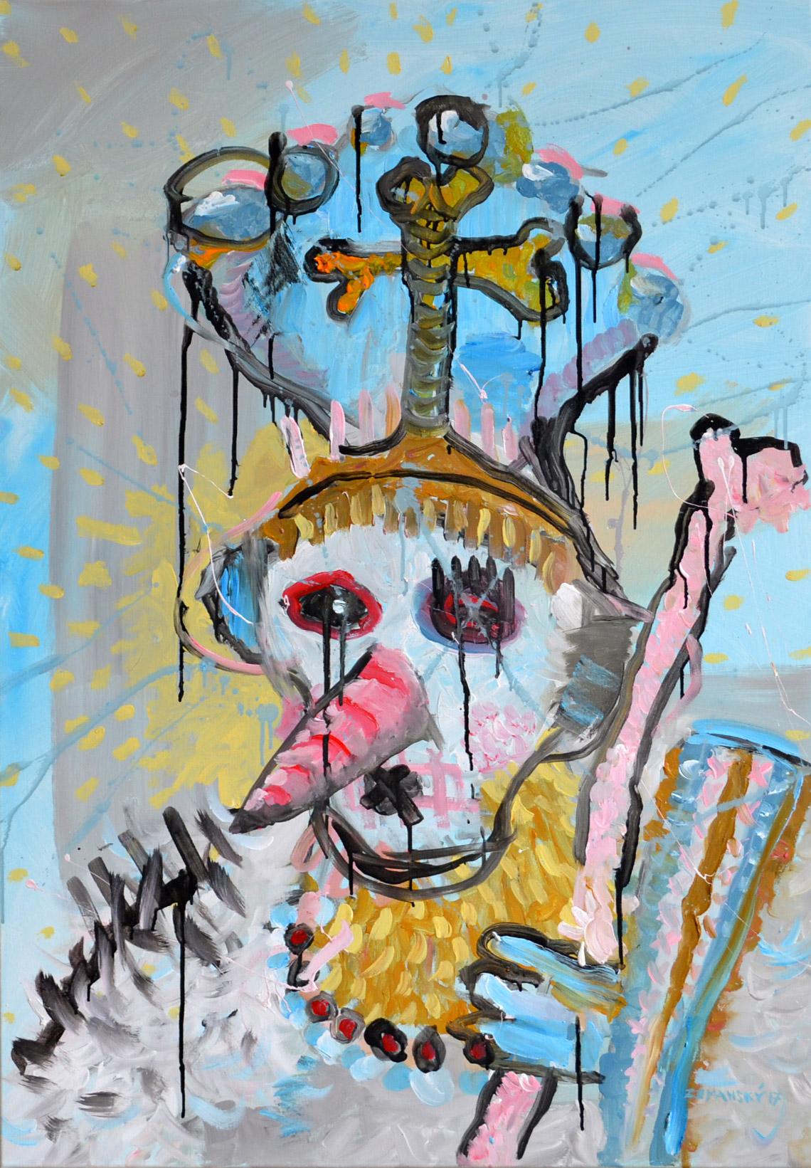 Zemansky Martin painting Carnival no. 02