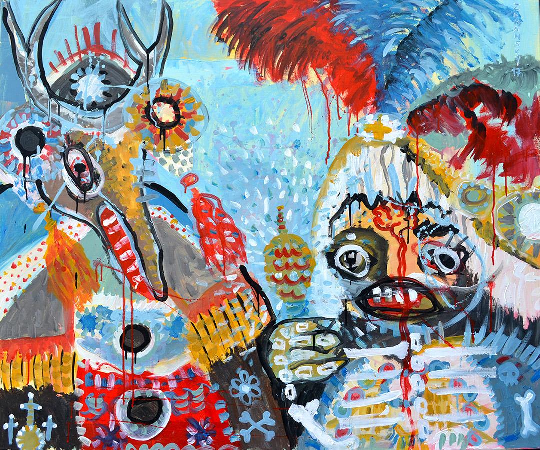 Zemansky Martin painting Carnival no. 03