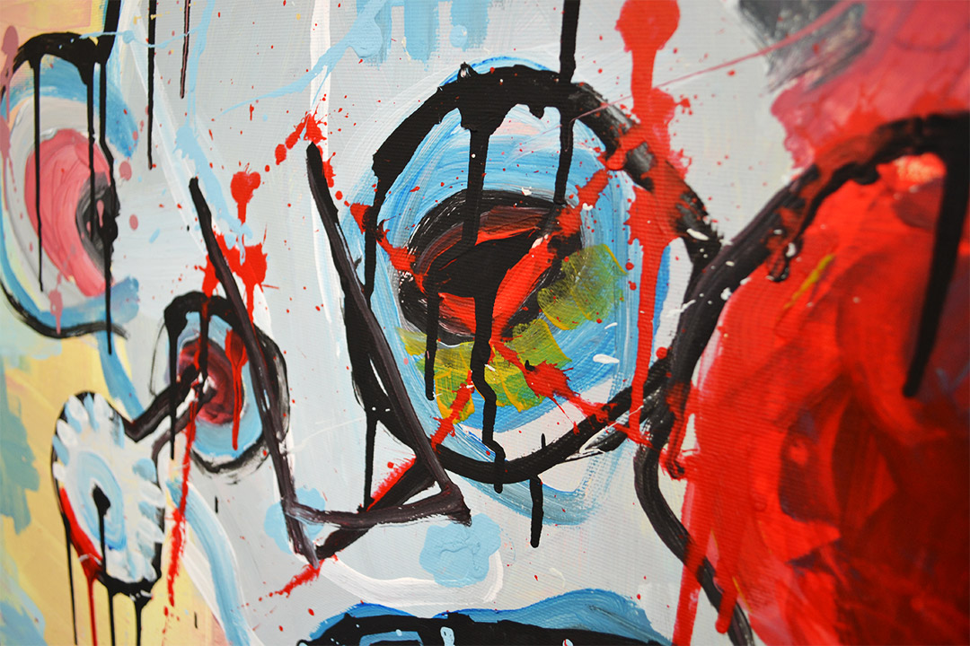 Zemansky Martin painting Direct detail 01