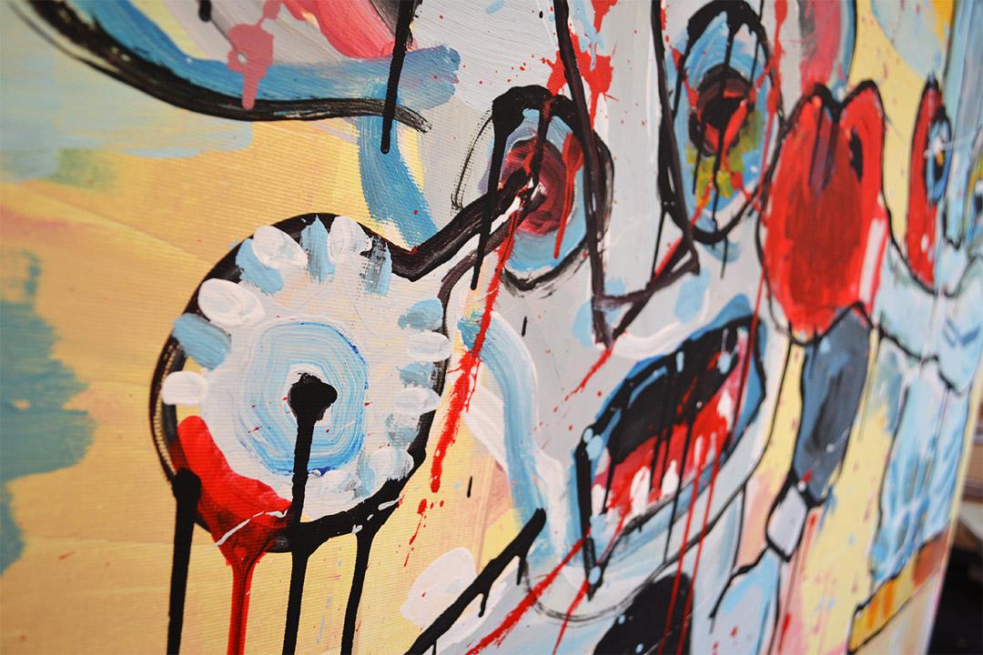 Zemansky Martin painting Direct detail 03