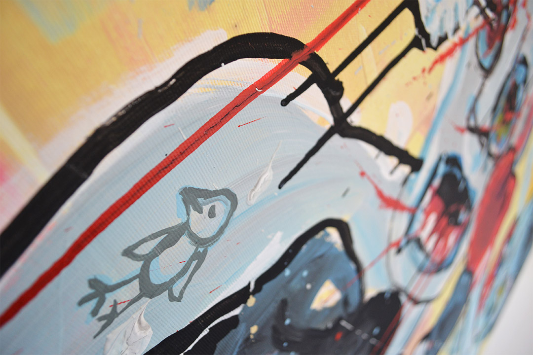 Zemansky Martin painting Direct detail 04