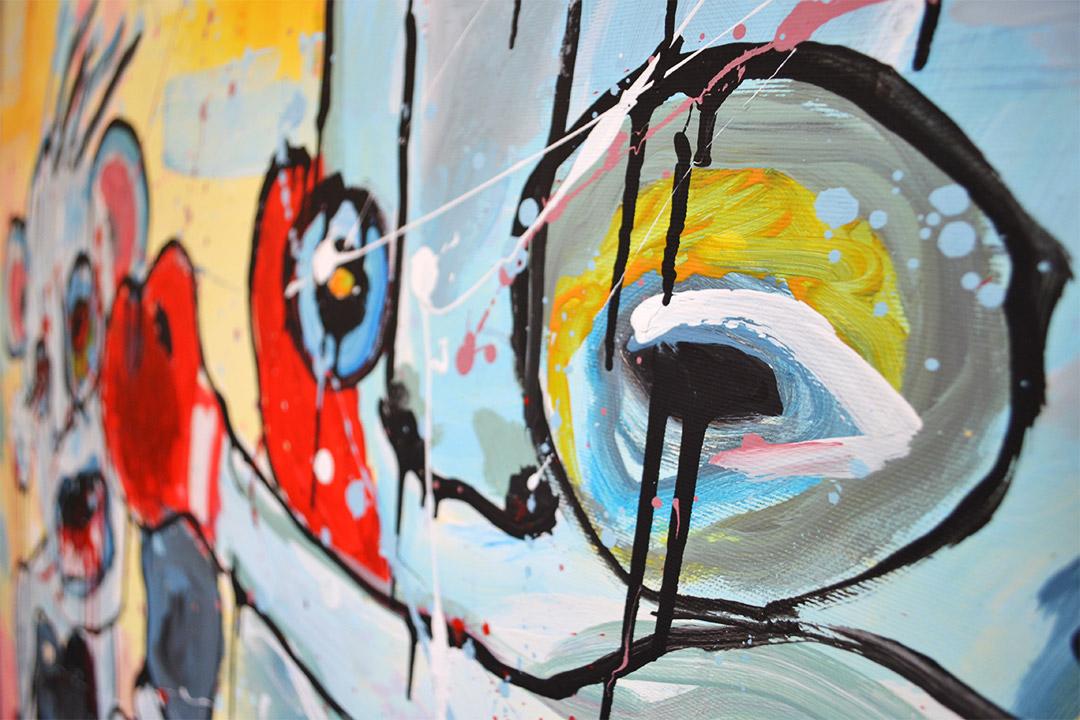 Zemansky Martin painting Direct detail 05