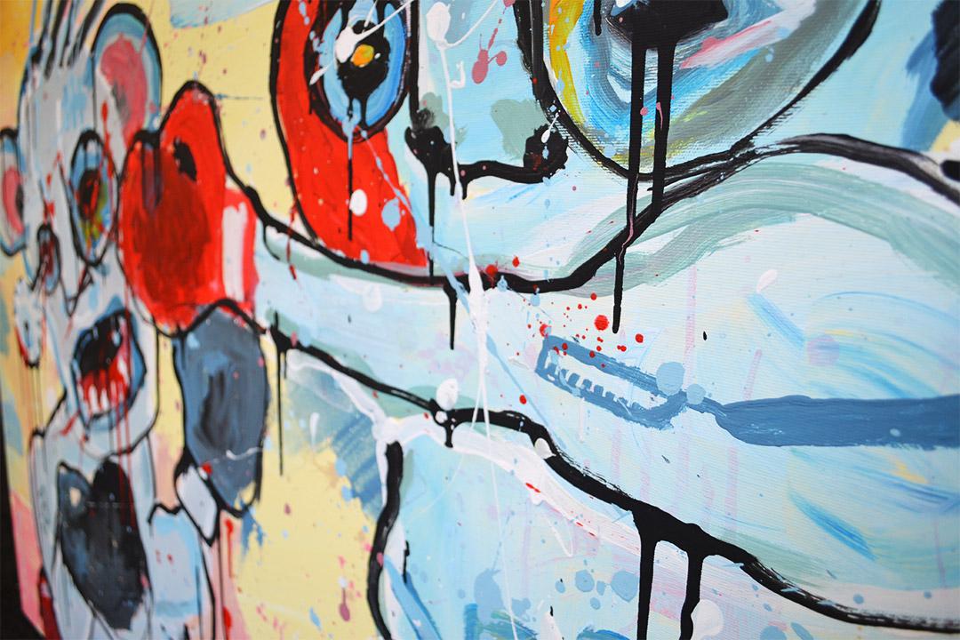 Zemansky Martin painting Direct detail 06