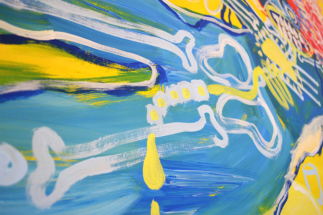 Zemansky Martin painting Guzzler detail 03