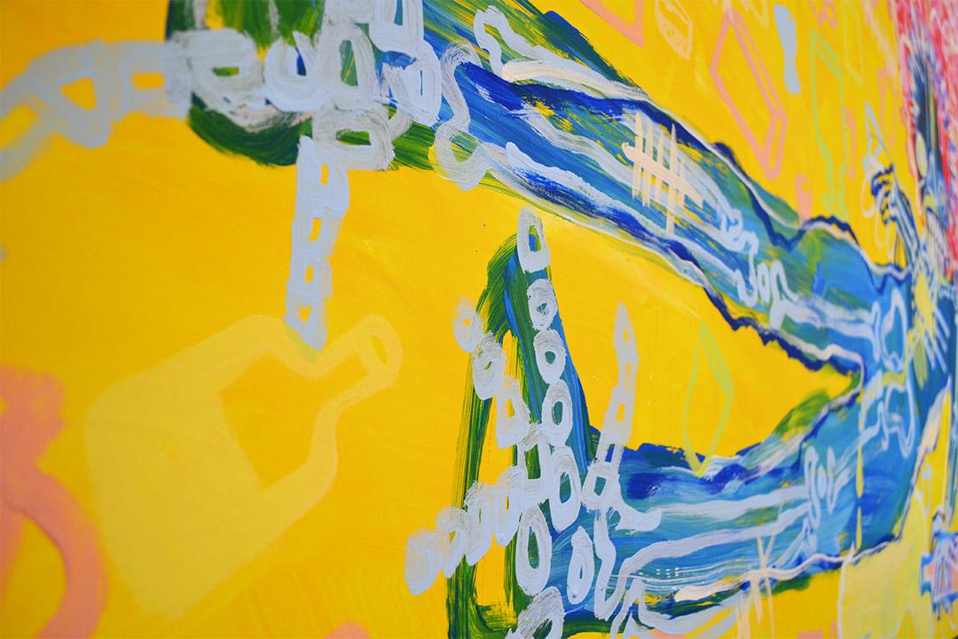 Zemansky Martin painting Guzzler detail 05