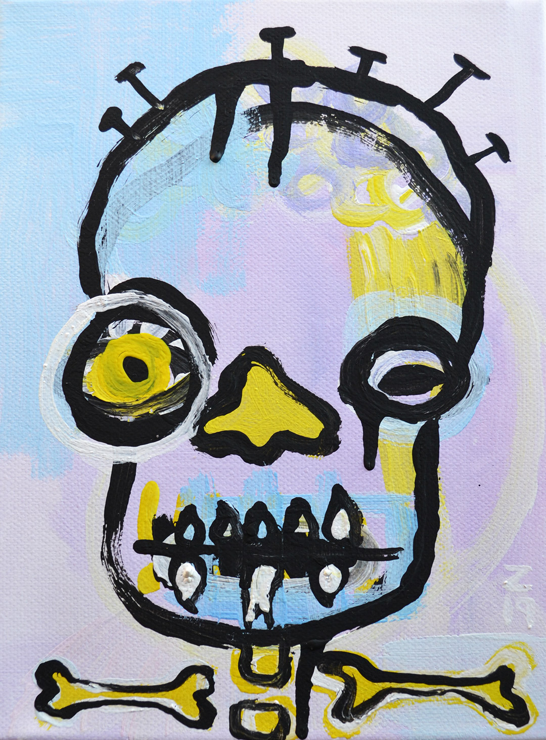 Zemansky Martin painting Heads no. 6