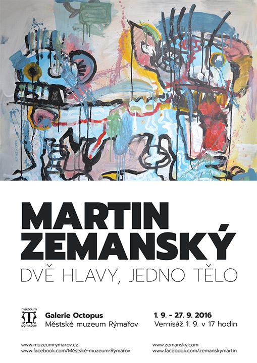 Zemansky Martin Rýmařov plakat výstava