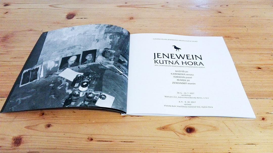 Zemansky Martin XVII. sympozium současného výtvarného umění Jenewein – Kutná Hora katalog 02