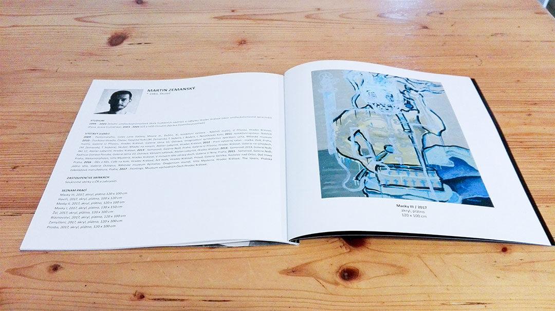 Zemansky Martin XVII. sympozium současného výtvarného umění Jenewein – Kutná Hora katalog 03
