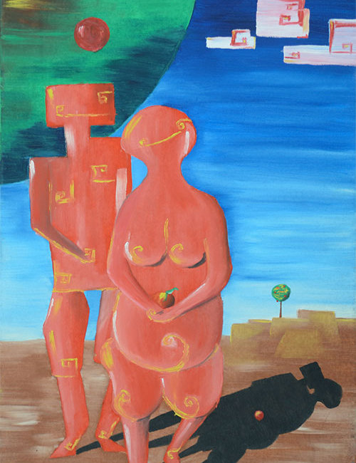 Zemansky Martin painting Adam And Eve_small