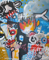 Zemansky Martin painting Fish Eaters_small