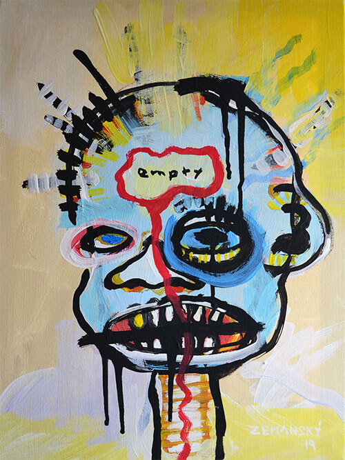 Zemansky Martin painting Heads no. 5_small