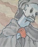 Martin Zemansky Prayer 120 x 100 cm Acrylic on canvas 2017 Felix Jenewein Gallery symposium