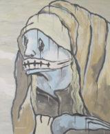 Martin Zemansky Sorrow 120 x 100 cm Acrylic on canvas 2017 Felix Jenewein Gallery symposium